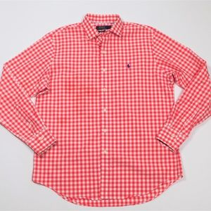 Polo Ralph Lauren Gingham Button Down Shirt L
